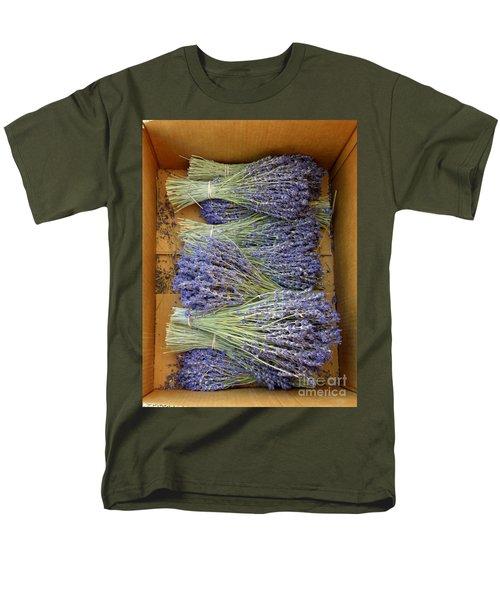 Lavender Bundles Men's T-Shirt  (Regular Fit) by Lainie Wrightson
