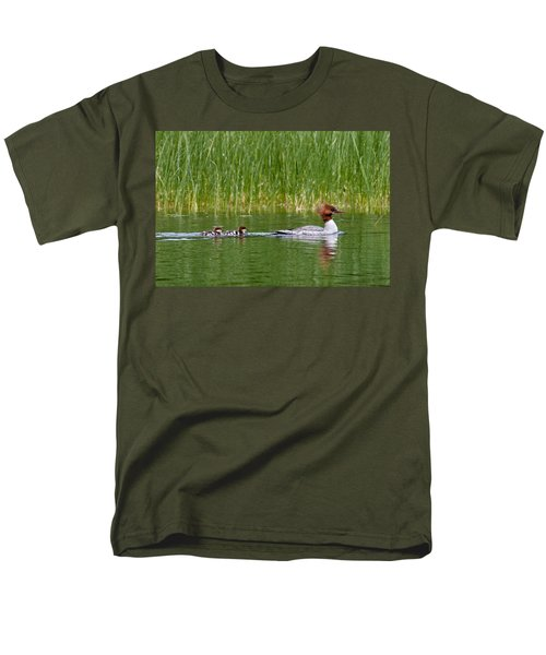 Men's T-Shirt  (Regular Fit) featuring the photograph Lazy Swim by Brent L Ander