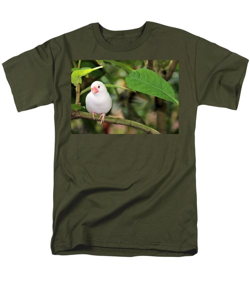 Little White Bird Men's T-Shirt  (Regular Fit) by Rosalie Scanlon