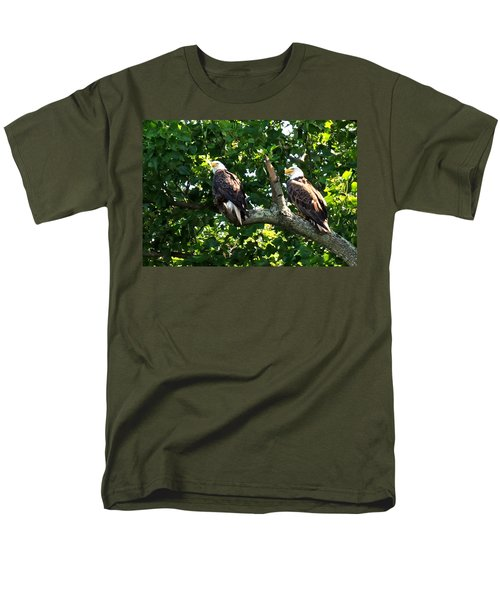 Men's T-Shirt  (Regular Fit) featuring the photograph Mating Pair by Randall Branham