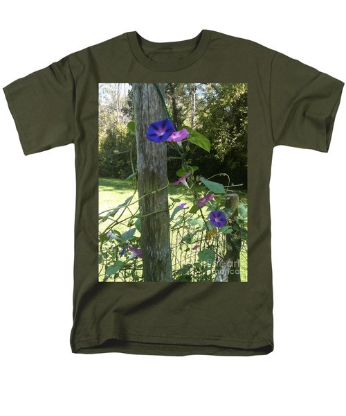 Morning Glory Men's T-Shirt  (Regular Fit) by Janice Spivey