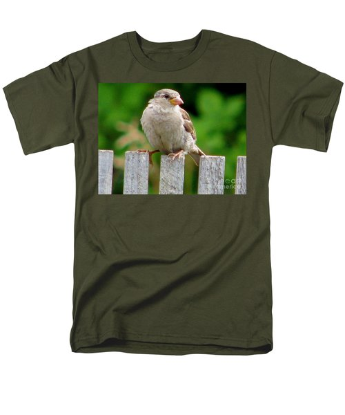 Men's T-Shirt  (Regular Fit) featuring the photograph Morning Visitor by Rory Sagner