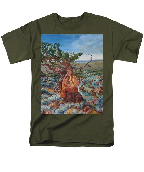My Sister Lenore In The Cedar Breaks Men's T-Shirt  (Regular Fit) by Dawn Senior-Trask