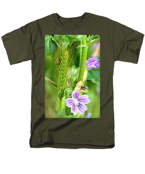 Men's T-Shirt  (Regular Fit) featuring the photograph Natural Bouquet by Pedro Cardona