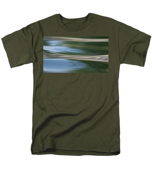 Nature's Reflection Men's T-Shirt  (Regular Fit) by Cathie Douglas