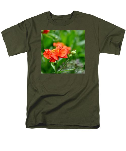 Men's T-Shirt  (Regular Fit) featuring the photograph Never Boring Red And Green by Tanya  Searcy