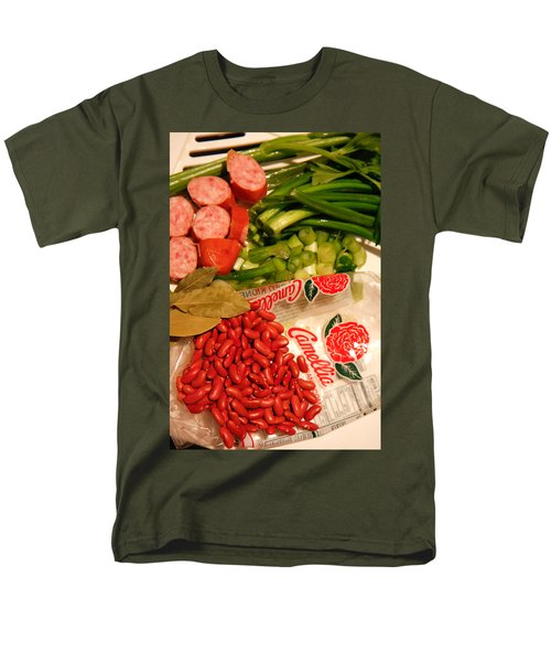 New Orleans' Red Beans And Rice Men's T-Shirt  (Regular Fit) by KG Thienemann