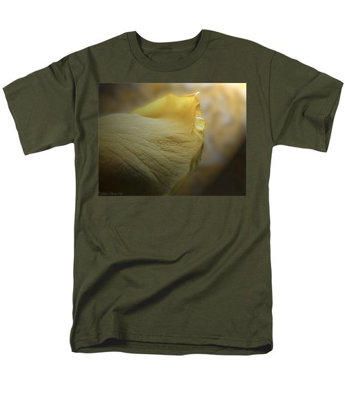 Men's T-Shirt  (Regular Fit) featuring the photograph Oh So Soft Is The Kiss Of Dew by Debbie Portwood