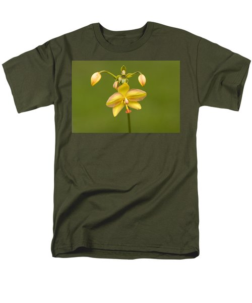 Orchid Number 1 Men's T-Shirt  (Regular Fit) by Rich Franco
