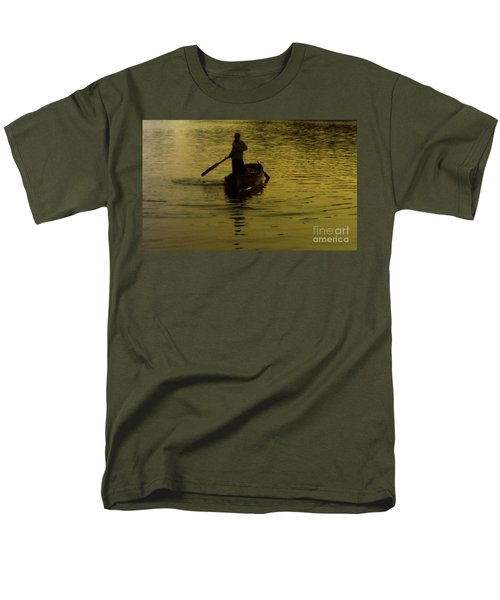 Men's T-Shirt  (Regular Fit) featuring the photograph Paddle Boy by Lydia Holly