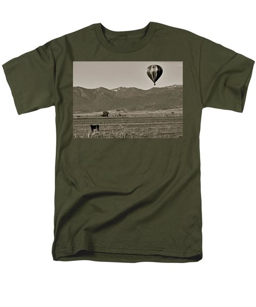Men's T-Shirt  (Regular Fit) featuring the photograph Pastoral Surprise by Eric Tressler