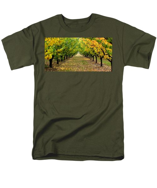 Men's T-Shirt  (Regular Fit) featuring the photograph Pear Orchard by Katie Wing Vigil