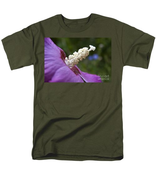 Men's T-Shirt  (Regular Fit) featuring the photograph Rose Of Sharon by Jeannette Hunt