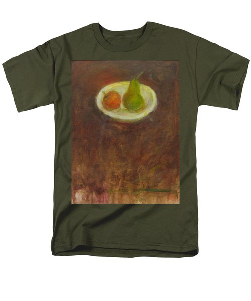Men's T-Shirt  (Regular Fit) featuring the painting Side By Side by Kathleen Grace