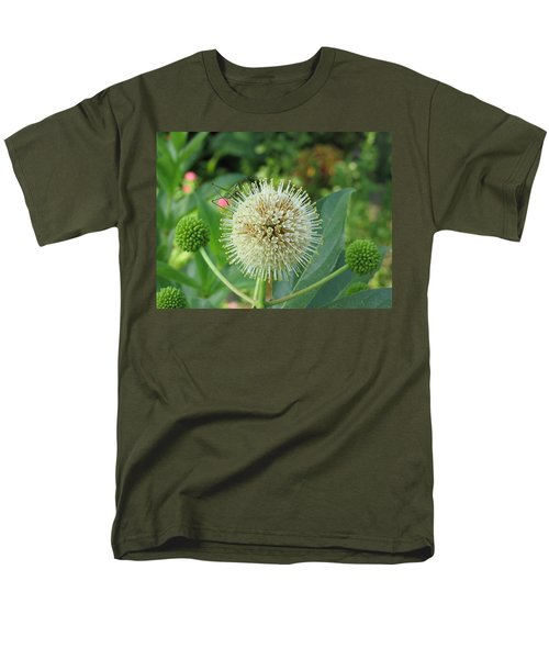 Men's T-Shirt  (Regular Fit) featuring the photograph Snakeroot Rider by Mark Robbins