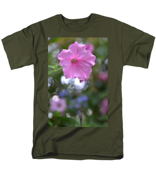 Soft Pink Men's T-Shirt  (Regular Fit) by Bonnie Myszka