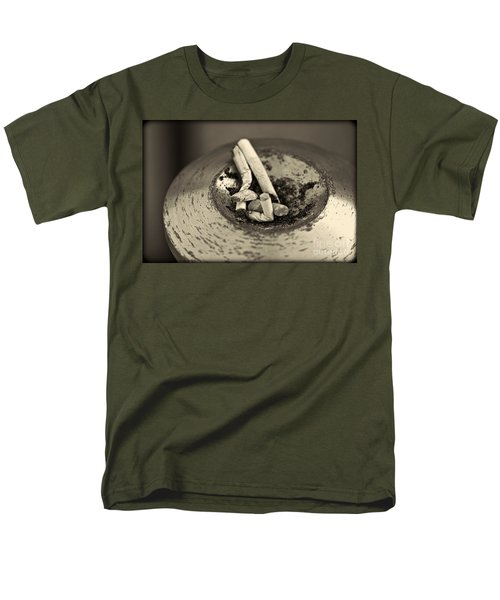 Men's T-Shirt  (Regular Fit) featuring the photograph Stubbed Out. by Clare Bambers
