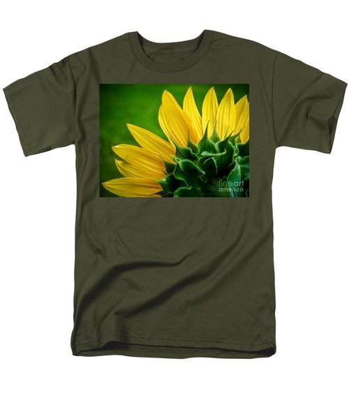 Men's T-Shirt  (Regular Fit) featuring the photograph Sunflower by Larry Carr