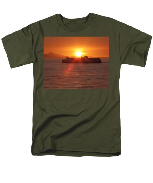 Sunset Men's T-Shirt  (Regular Fit) by Eunice Gibb