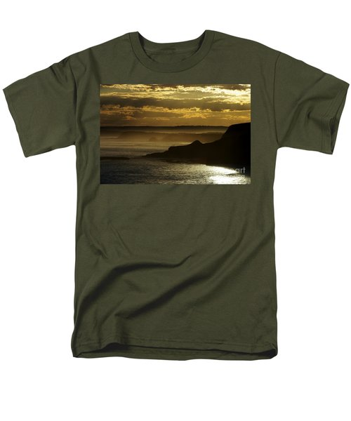 Men's T-Shirt  (Regular Fit) featuring the photograph Sunset Mist by Blair Stuart