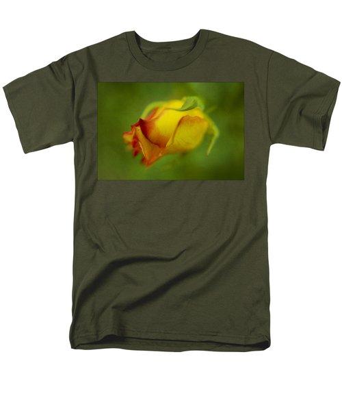 The Yellow Rose Men's T-Shirt  (Regular Fit) by Diane Dugas