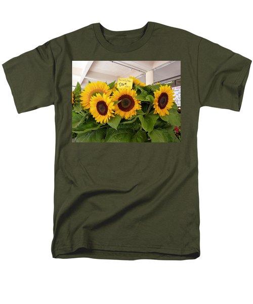Men's T-Shirt  (Regular Fit) featuring the photograph Tournesol by Carla Parris
