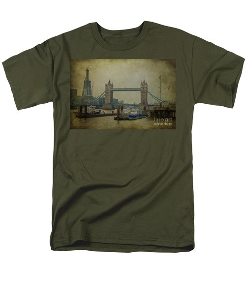 Men's T-Shirt  (Regular Fit) featuring the photograph Tower Bridge. by Clare Bambers