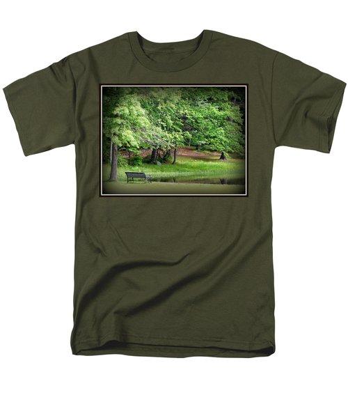 Tranquility Men's T-Shirt  (Regular Fit) by Priscilla Richardson