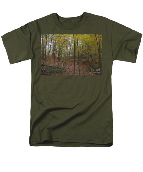 Men's T-Shirt  (Regular Fit) featuring the photograph Tryon Park by William Norton