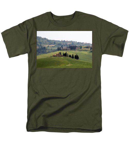 Men's T-Shirt  (Regular Fit) featuring the photograph Tuscany by Carla Parris