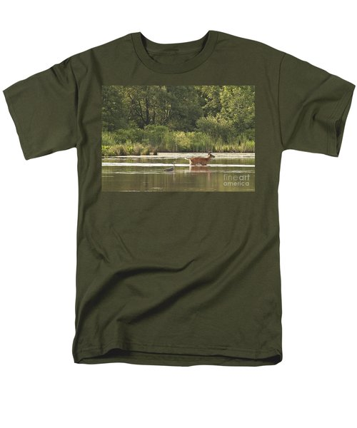 Men's T-Shirt  (Regular Fit) featuring the photograph Unusual Pair  by Jeannette Hunt