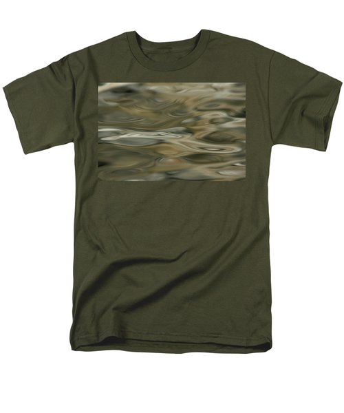 Men's T-Shirt  (Regular Fit) featuring the photograph Water And Rocks  by Cathie Douglas