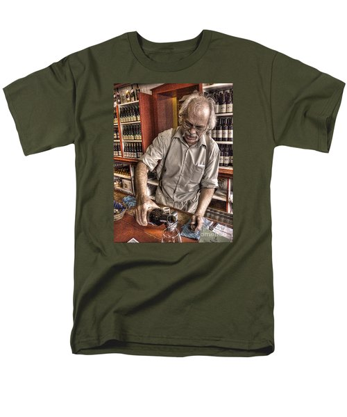 Men's T-Shirt  (Regular Fit) featuring the photograph Wine I Know Was Made To Drink by William Fields