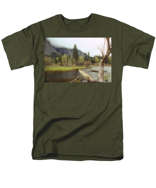 Yosemite Men's T-Shirt  (Regular Fit) by Mark Greenberg