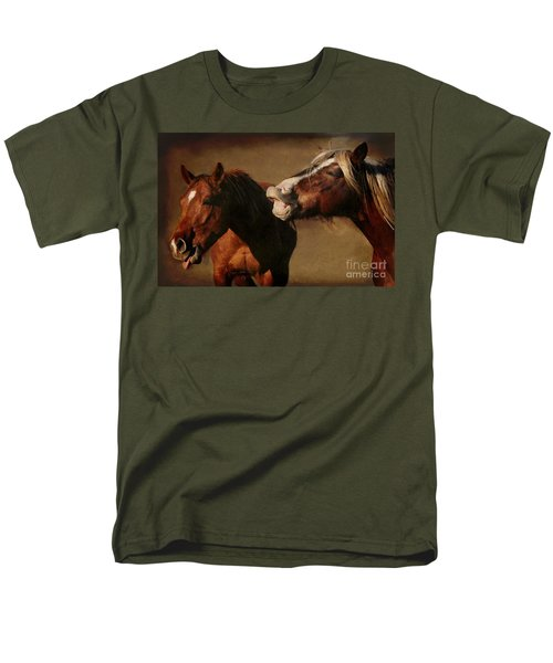 Men's T-Shirt  (Regular Fit) featuring the photograph You're Too Funny by Davandra Cribbie