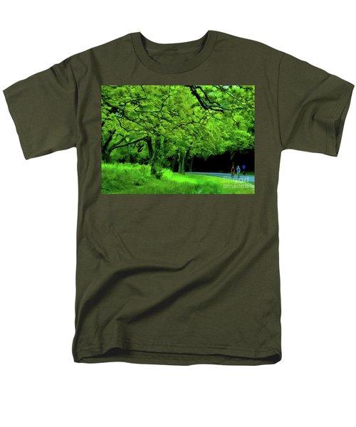 Faire Du Velo Men's T-Shirt  (Regular Fit) by Diana Mary Sharpton