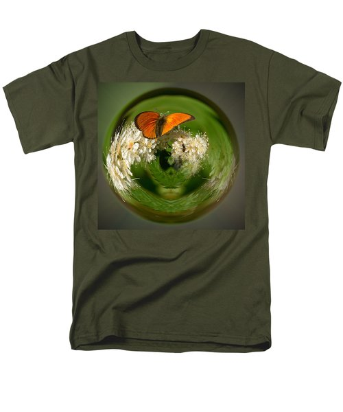 Men's T-Shirt  (Regular Fit) featuring the photograph  Scarce Copper 3 by Jouko Lehto