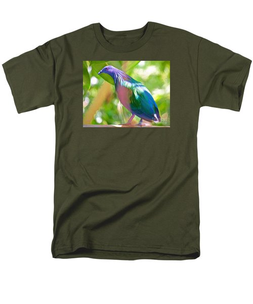 Men's T-Shirt  (Regular Fit) featuring the photograph  The Pose by Judy Kay