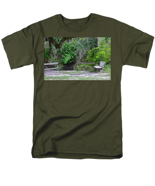 A Place To Rest Men's T-Shirt  (Regular Fit) by Carol  Bradley