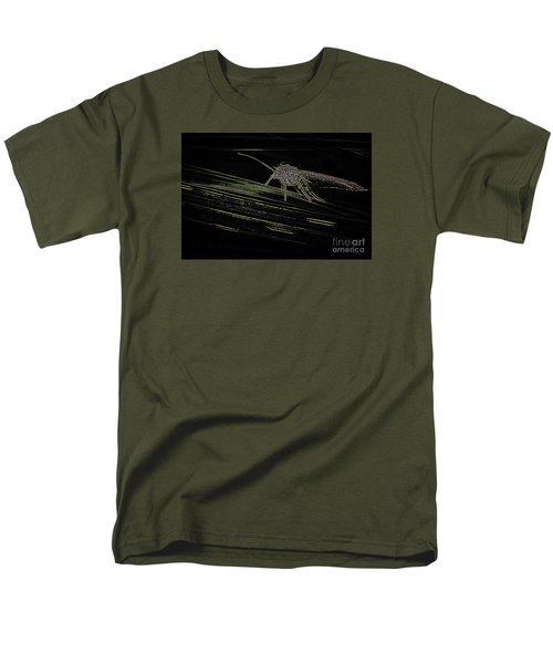 Men's T-Shirt  (Regular Fit) featuring the photograph Alien by Jivko Nakev