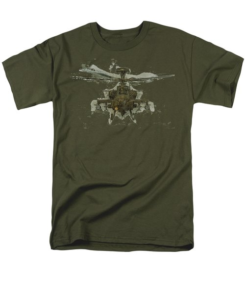 Apache Helicopter Men's T-Shirt  (Regular Fit) by Roy Pedersen