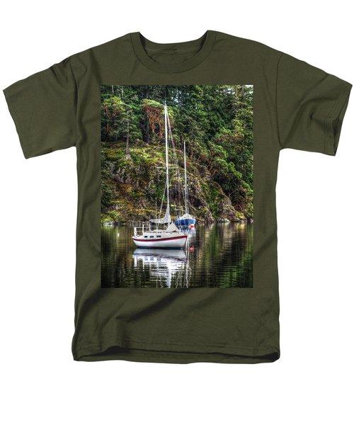 At Anchor Men's T-Shirt  (Regular Fit) by Randy Hall