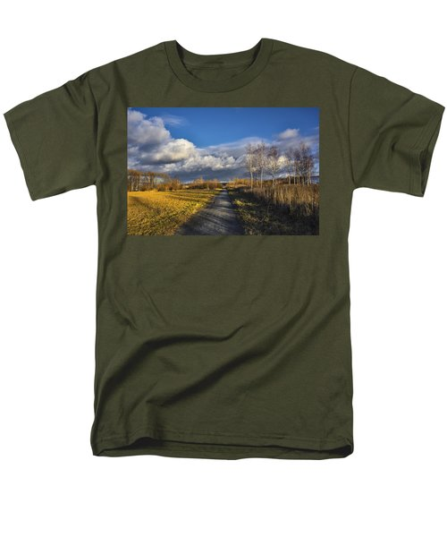 Autumn Evening Men's T-Shirt  (Regular Fit) by Vladimir Kholostykh