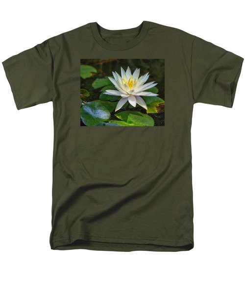 Men's T-Shirt  (Regular Fit) featuring the photograph Beautiful Lotus by Susi Stroud