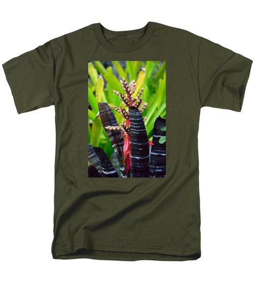 Bromelia Men's T-Shirt  (Regular Fit) by Edgar Torres