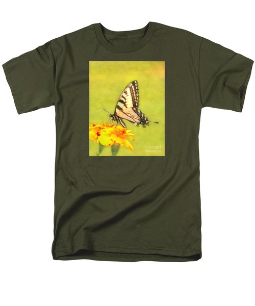 Butterfly Men's T-Shirt  (Regular Fit) by Marion Johnson