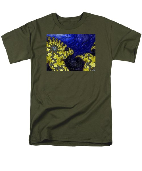 Men's T-Shirt  (Regular Fit) featuring the photograph Celestial Storm by Ronda Broatch