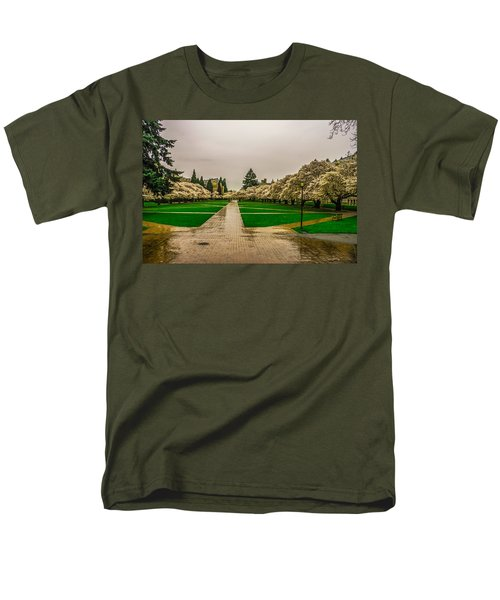 Men's T-Shirt  (Regular Fit) featuring the photograph Cherry Blossoms by Jerry Cahill