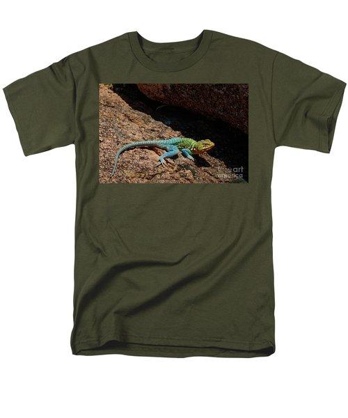 Colorful Lizard II Men's T-Shirt  (Regular Fit)
