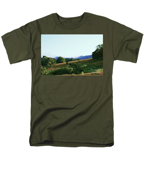Men's T-Shirt  (Regular Fit) featuring the photograph Creator's Sky Painting by Polly Peacock